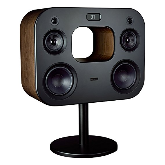 Fluance Fi70 Three-Way Wireless High Fidelity Music System (Natural Walnut)
